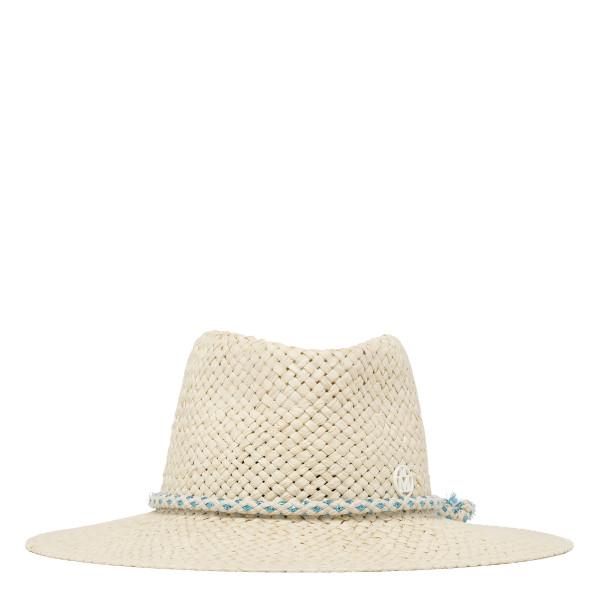 Charles woven straw fedora hat