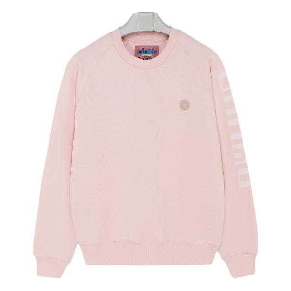 Blossom pink cotton sweatshirt