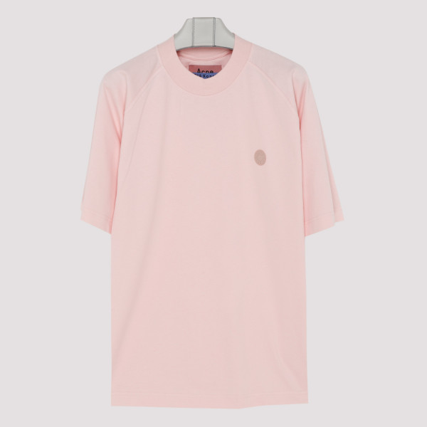 Blossom pink cotton T-shirt