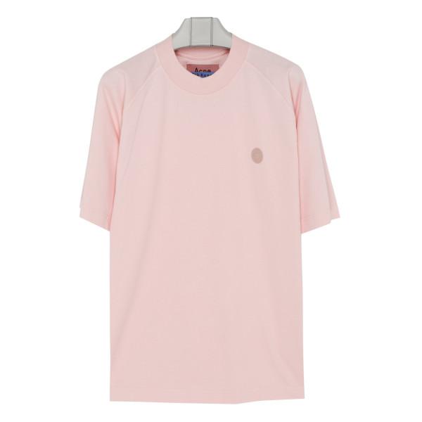 Blossom pink cotton T-shirt