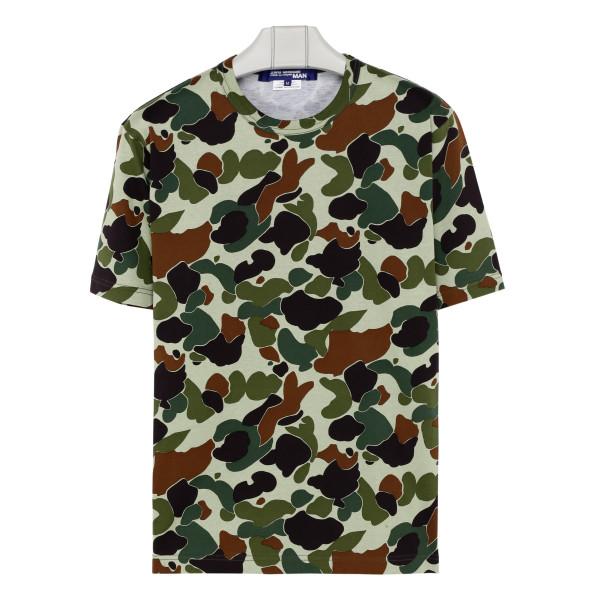 Camo pattern T-shirt