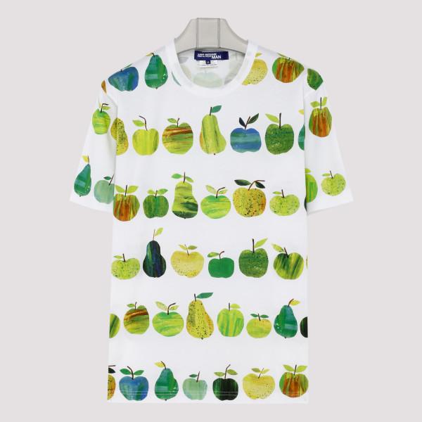 Apple pattern T-shirt
