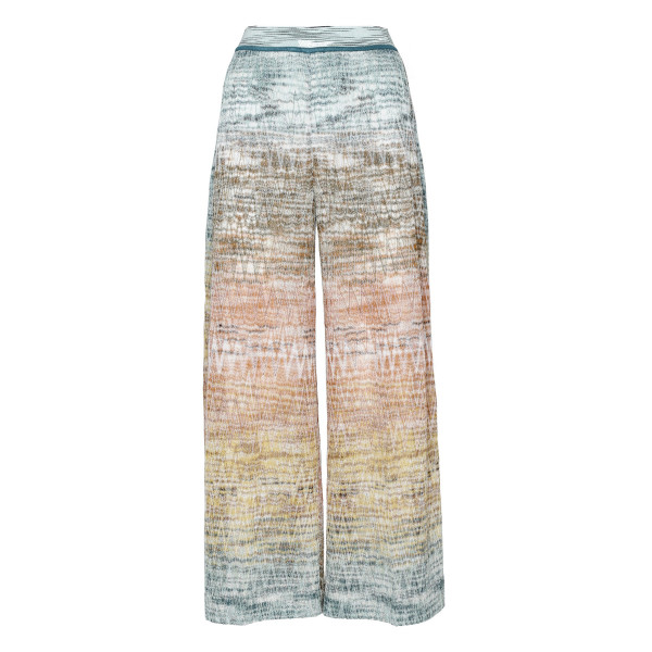 Multicolor lamé pants