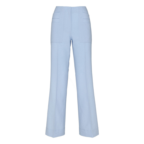 Light blue cropped pants