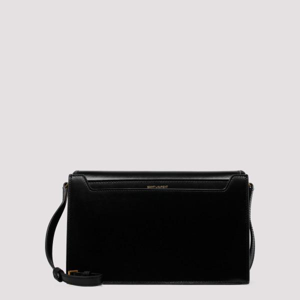 Catherine black satchel bag
