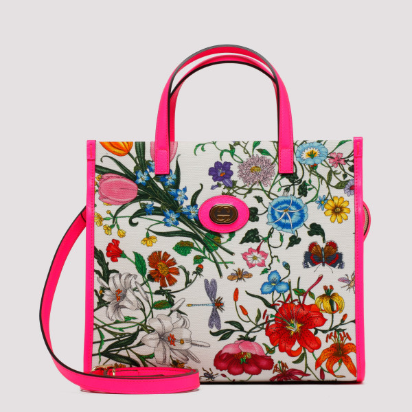 Flora medium tote bag