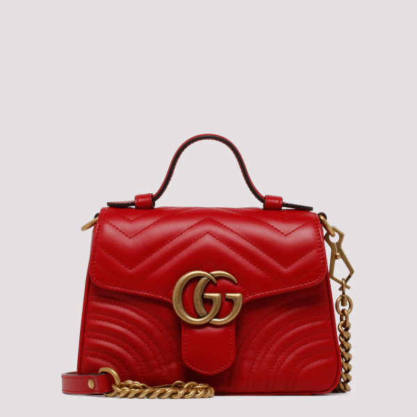 GG Marmont red mini top...