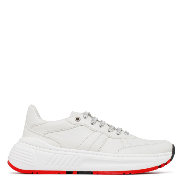 Speedster white leather sneakers