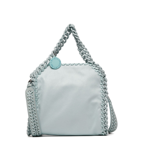 Dusty blue Falabella Candy mini tote bag