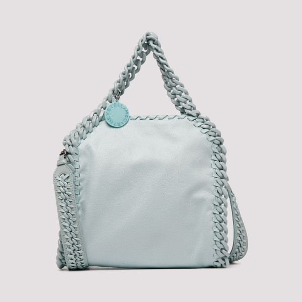 180283e142242b Dusty blue Falabella Candy mini tote bag