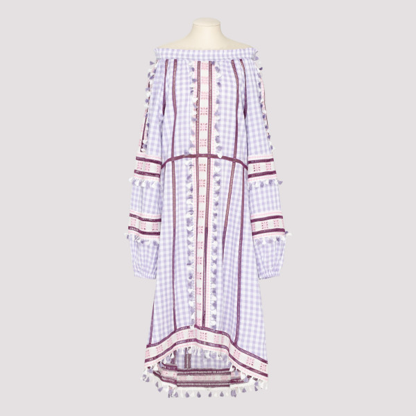 Light purple tassel dress