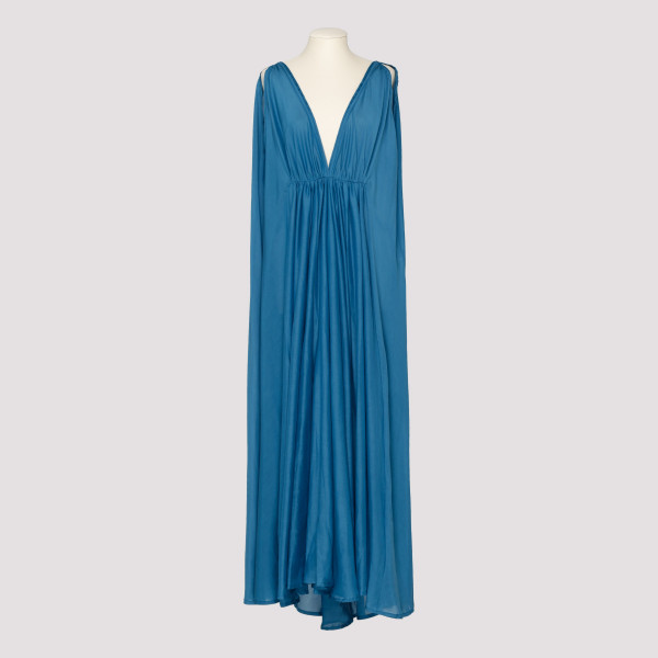 Blue Clemence maxi dress