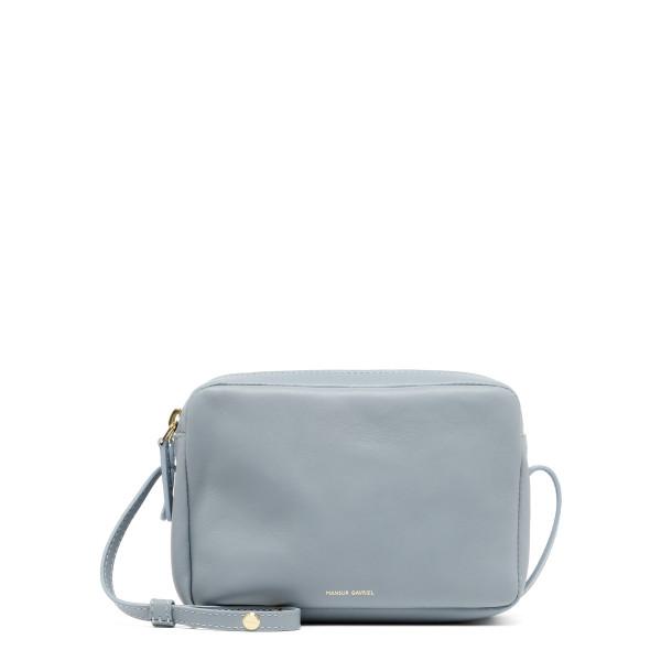 Light blue Double Zip Crossbody bag