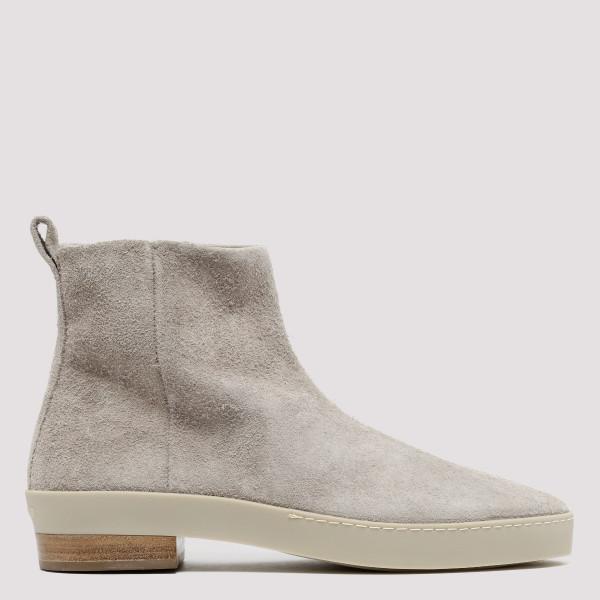 Grey Santa Fe Chelsea Boots