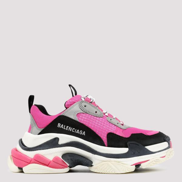 Pink Triple S sneakers