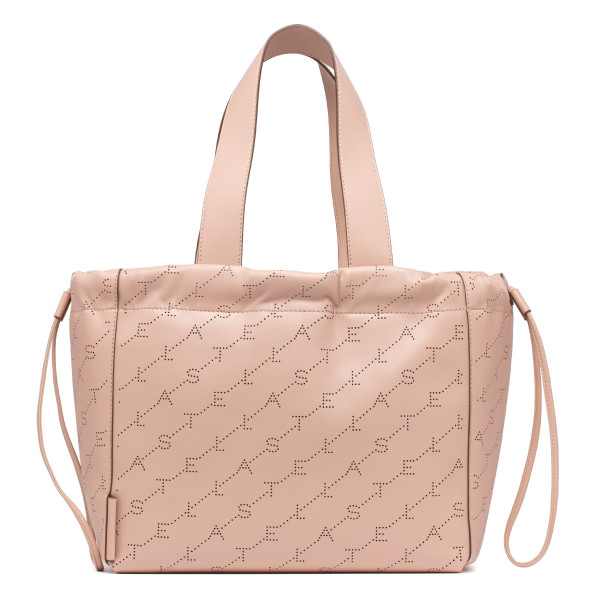 Monogram nude pink handbag