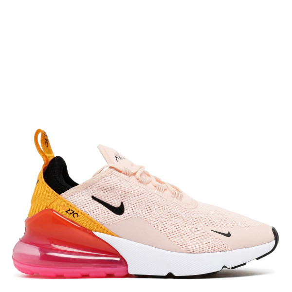 Air Max 270 coral and pink sneakers