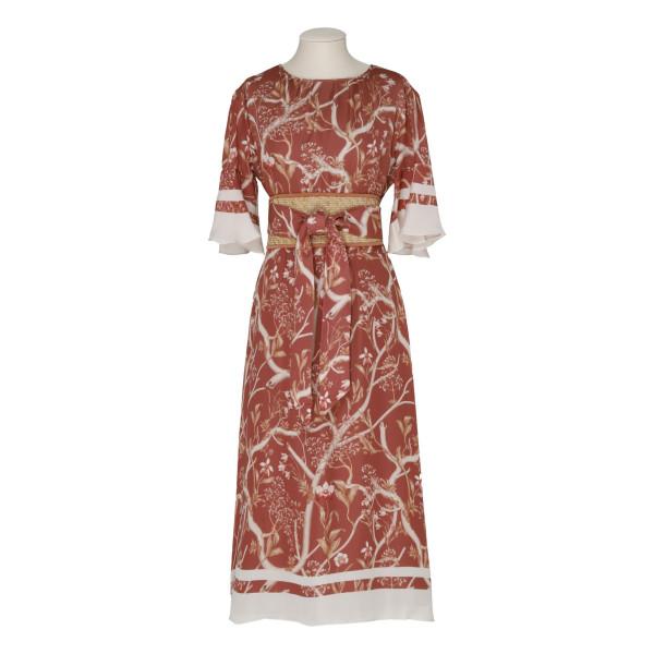 Rhapsody floral-print dress