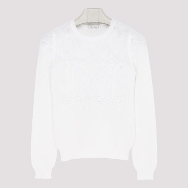 Avila white sweater