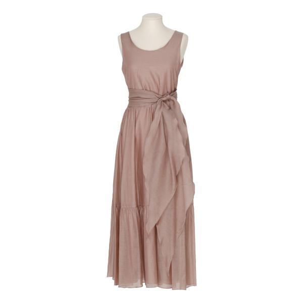 Manche cotton and silk midi dress