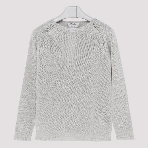 Giolino ecru linen sweater