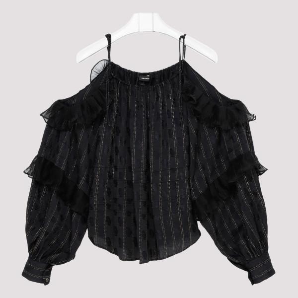 Black Margo Top