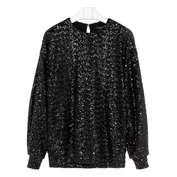 Black Olivia sweater