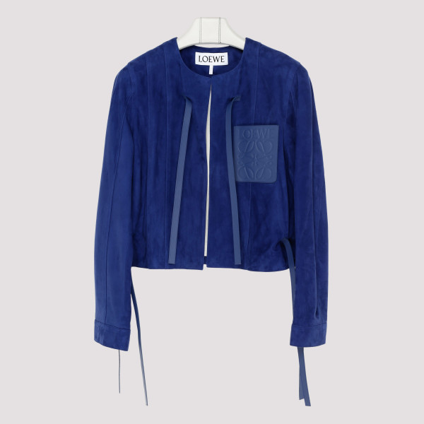 Dark Royal blue Short Jacket