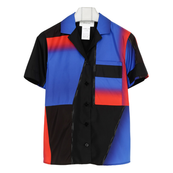 Colour Block Boxy Shirt