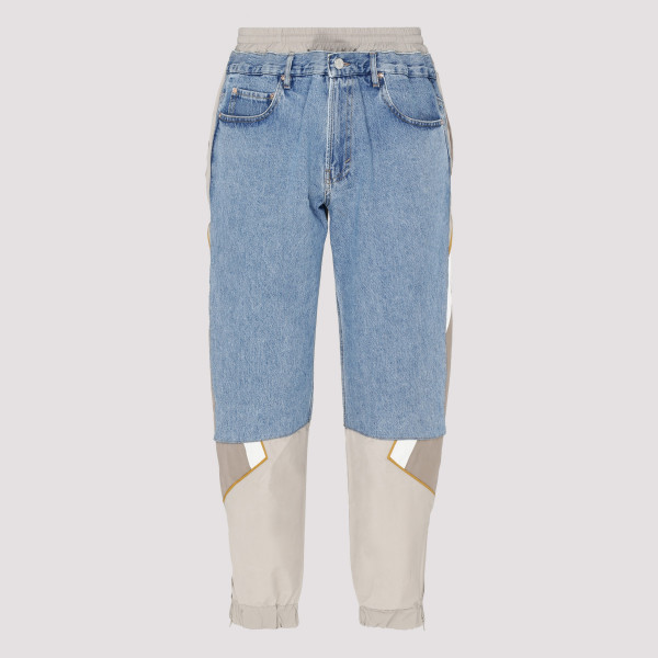 Baggy jeans with track strap