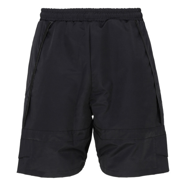 Black oversize shorts