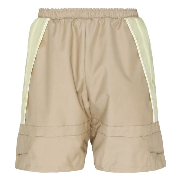 Beige and yellow Journey Shorts