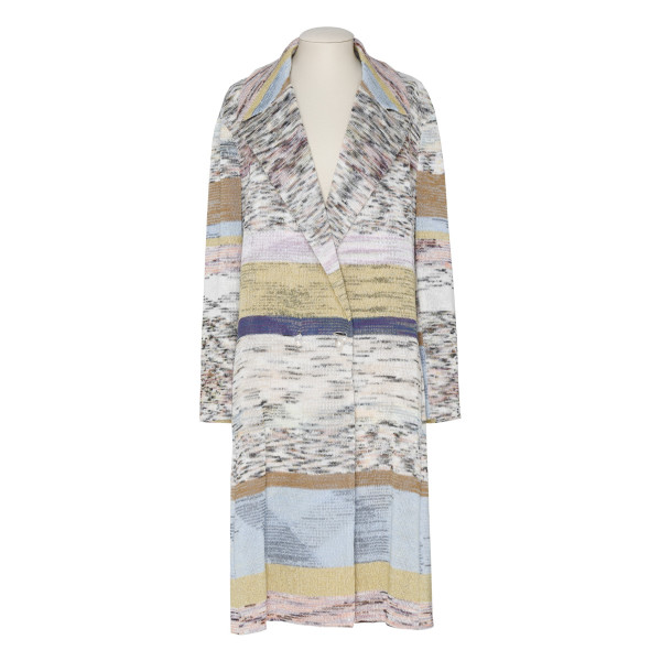 Multi pattern coat