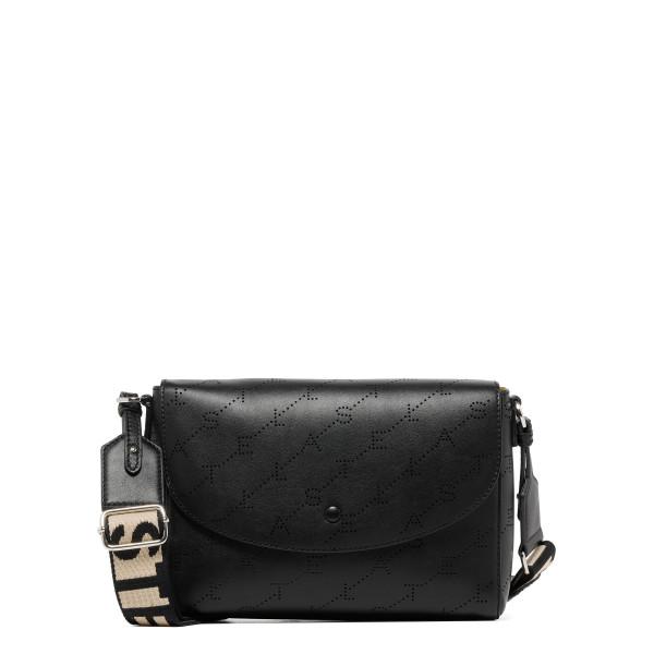 Monogram black alter leather shoulder bag