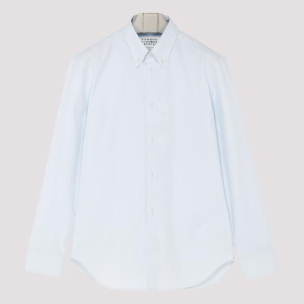 Light blue button-down shirt