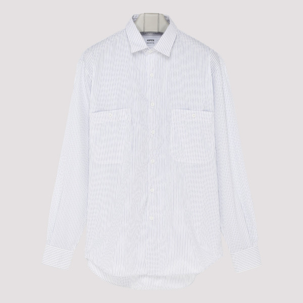 Classic micro-stripe shirt