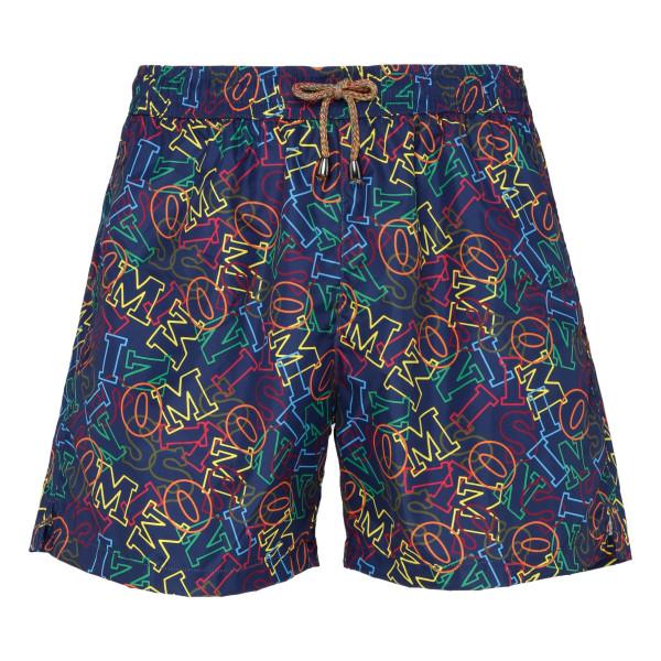 Multicolor logo swim shorts