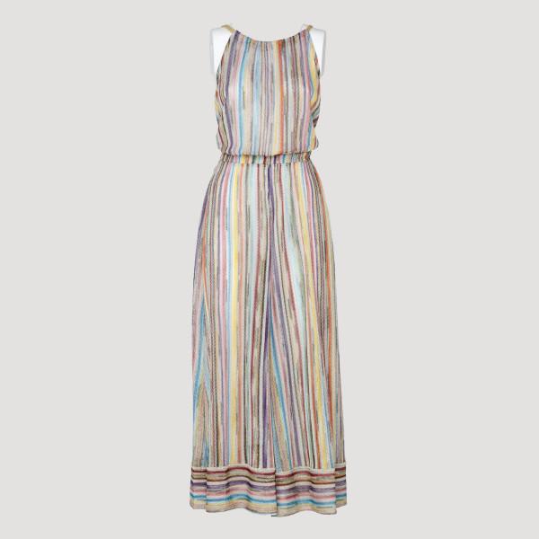 Multicolor striped jumpsuit