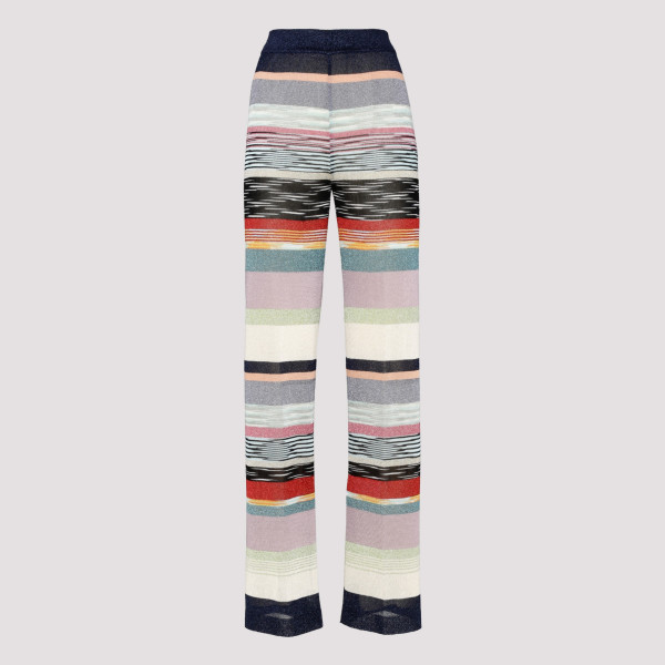 Multicolor striped pants