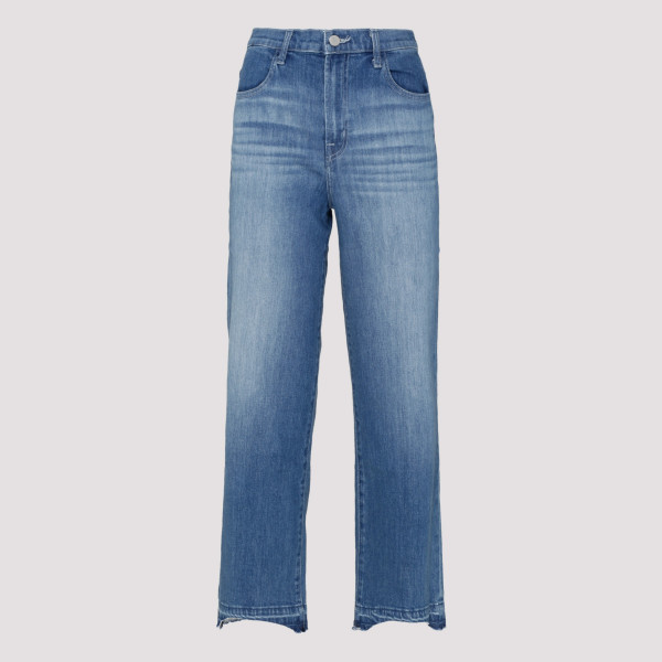 Blue high rise jeans