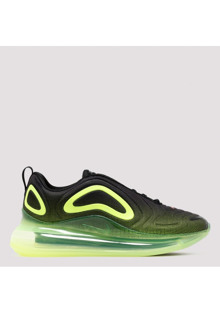 Black and yellow Air Max 720 sneakers