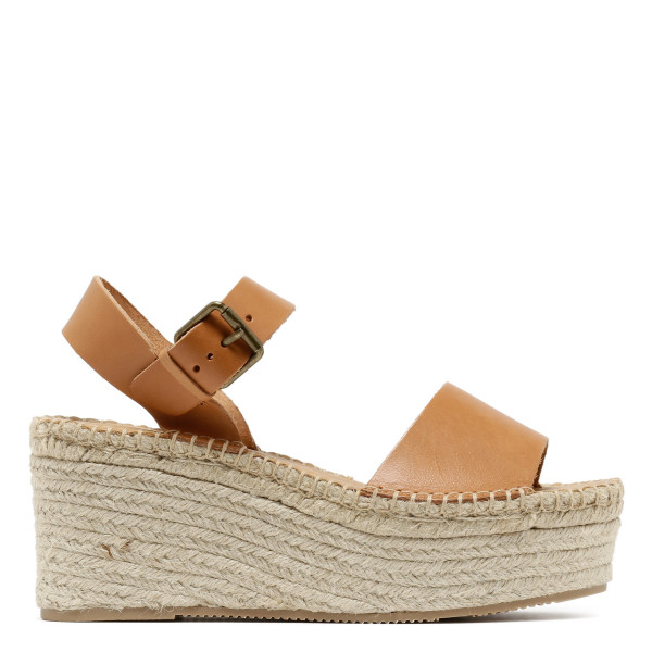 Nude Minorca High Platform sandals