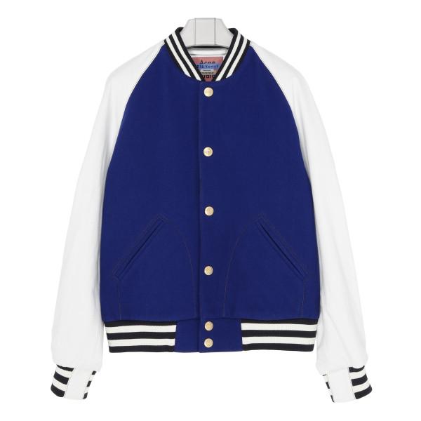 Ocean blue Letterman jacket