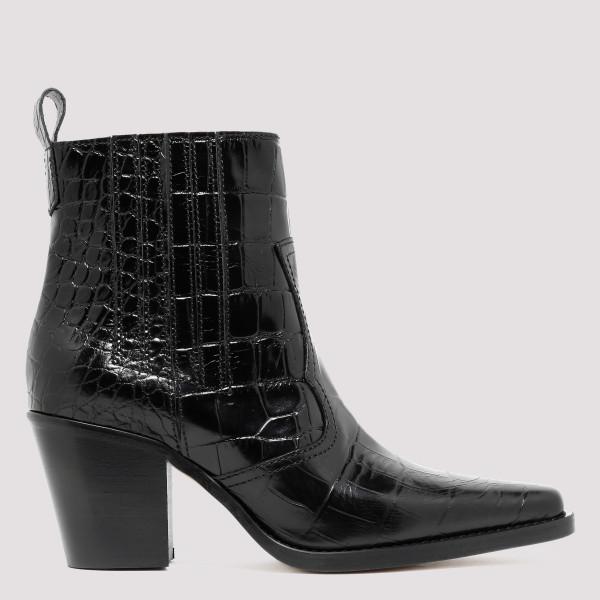 Black Callie 70 booties
