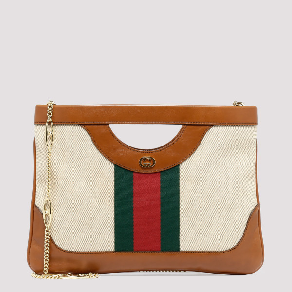 Large vintage canvas shoulder bag