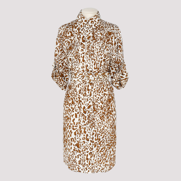 Leopard utility short dress