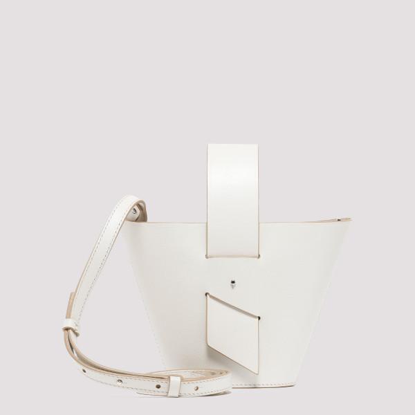 White Amphora bucket bag