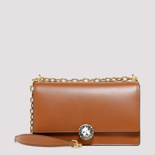 Miu Solitaire leather...
