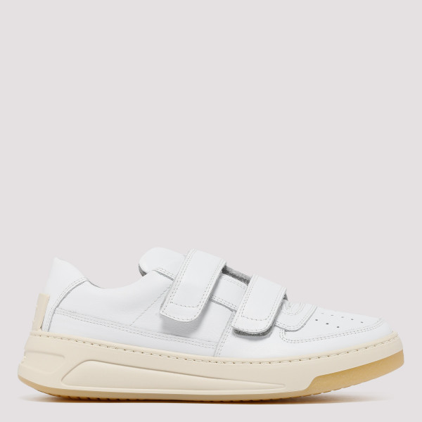 Perey white leather sneakers