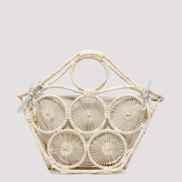 Mar natural straw handbag